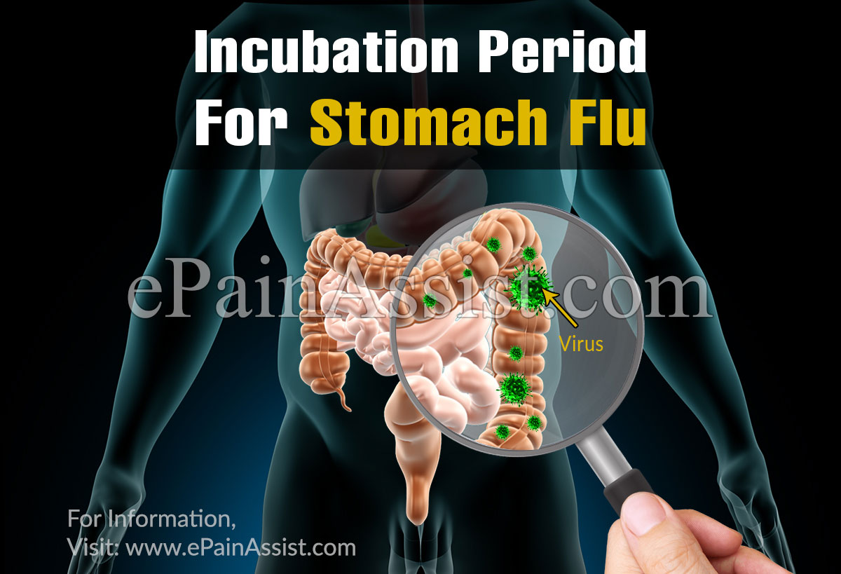 Incubation Period for Stomach Flu