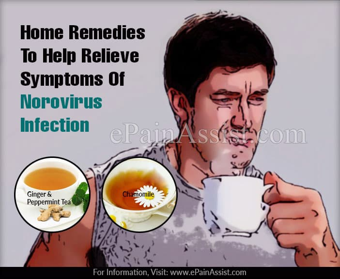 Home Remedies To Help Relieve Symptoms Of Norovirus Infection