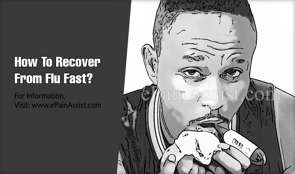 How To Recover From Flu Fast?