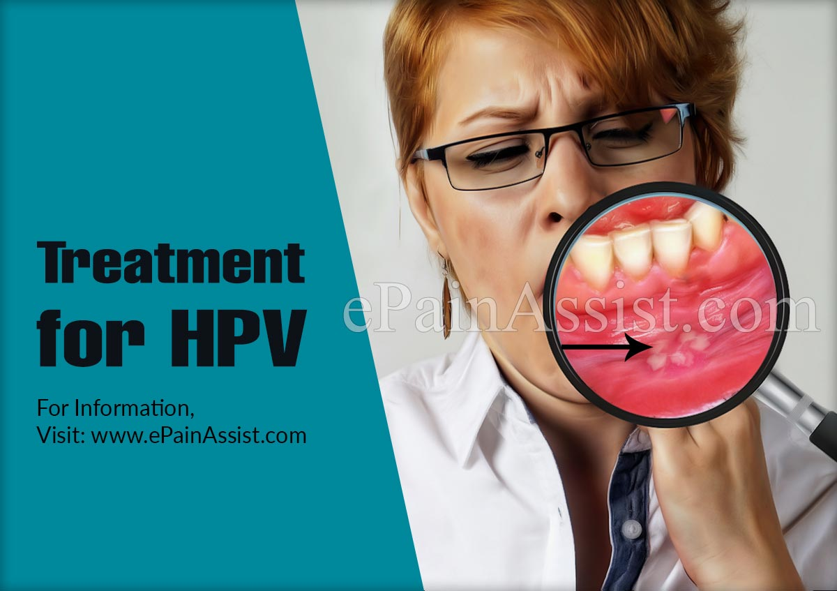 Treatment for HPV