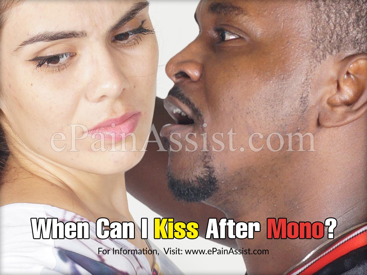 When Can I Kiss After Mono?