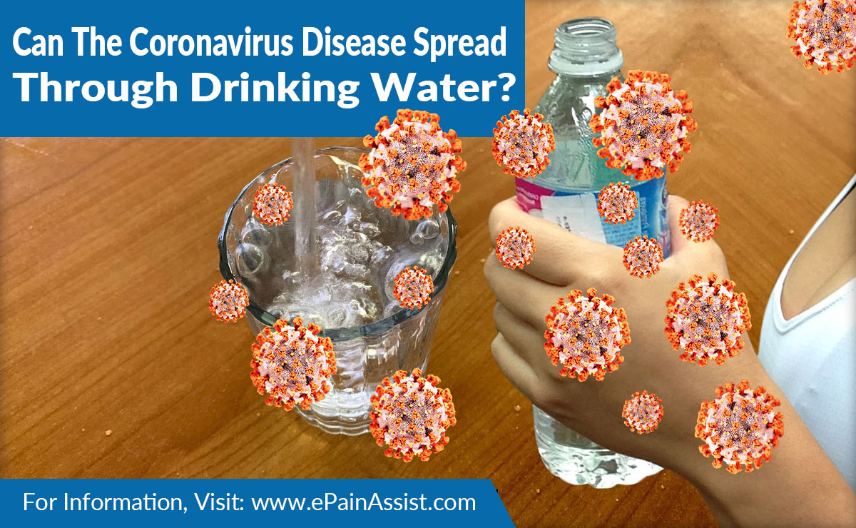 Can The Coronavirus Disease Spread Through Drinking Water?