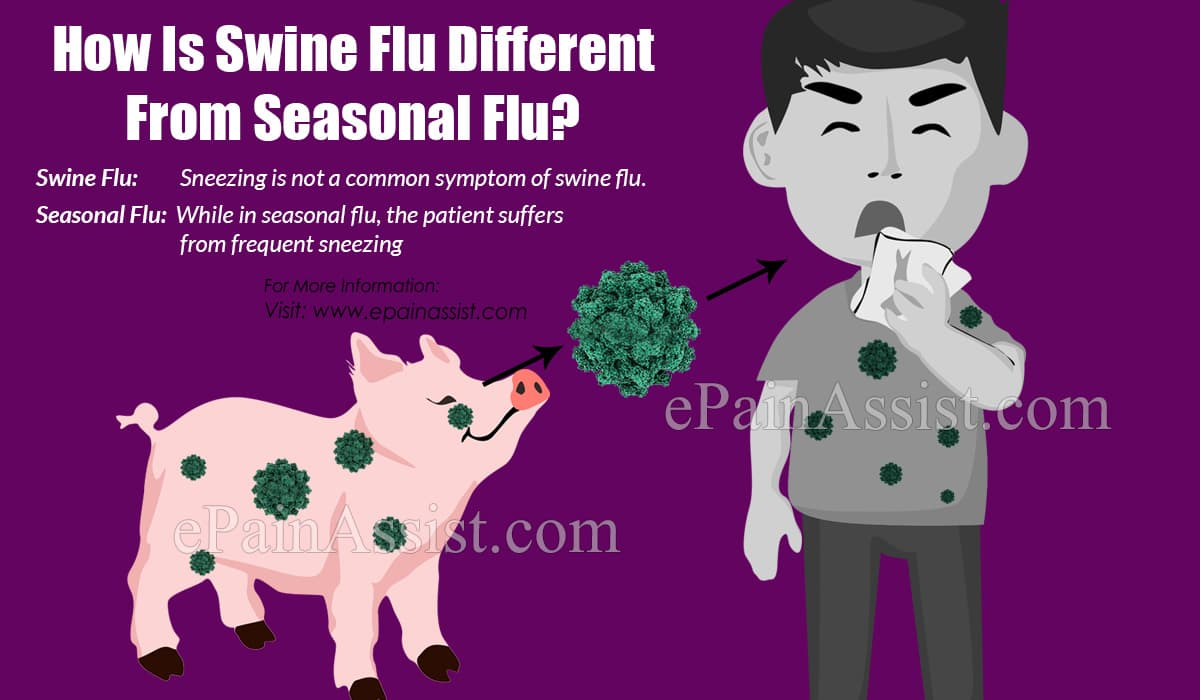 How Is Swine Flu Different From Seasonal Flu?