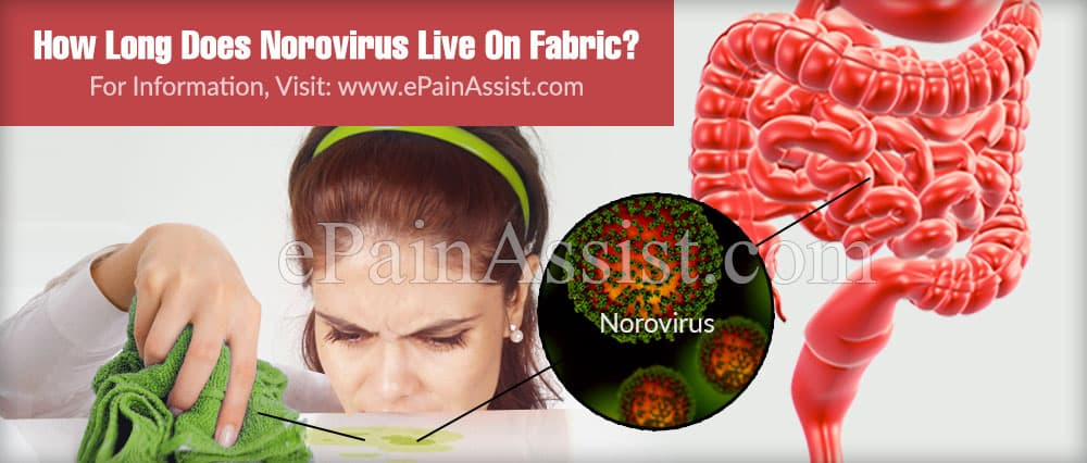 How Long Does Norovirus Live On Fabric?