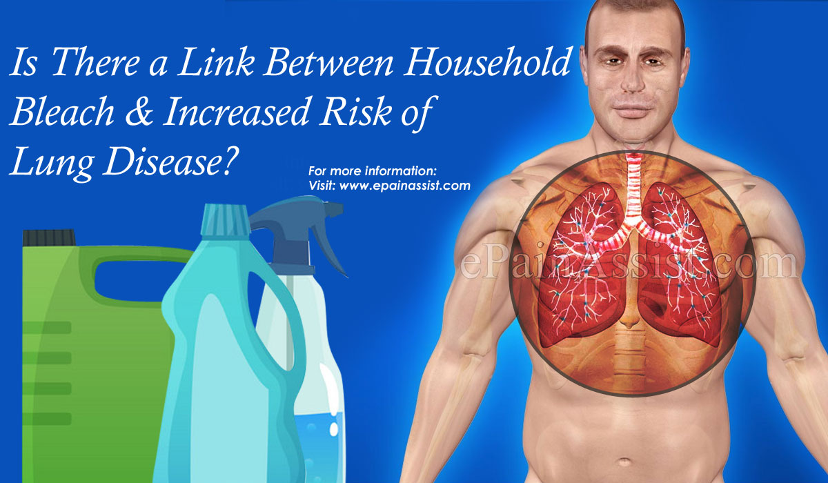Is There a Link Between Household Bleach & Increased Risk of Lung Disease?