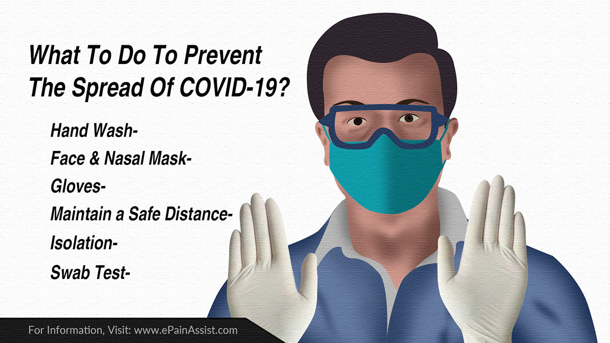 What To Do To Prevent The Spread Of COVID-19?