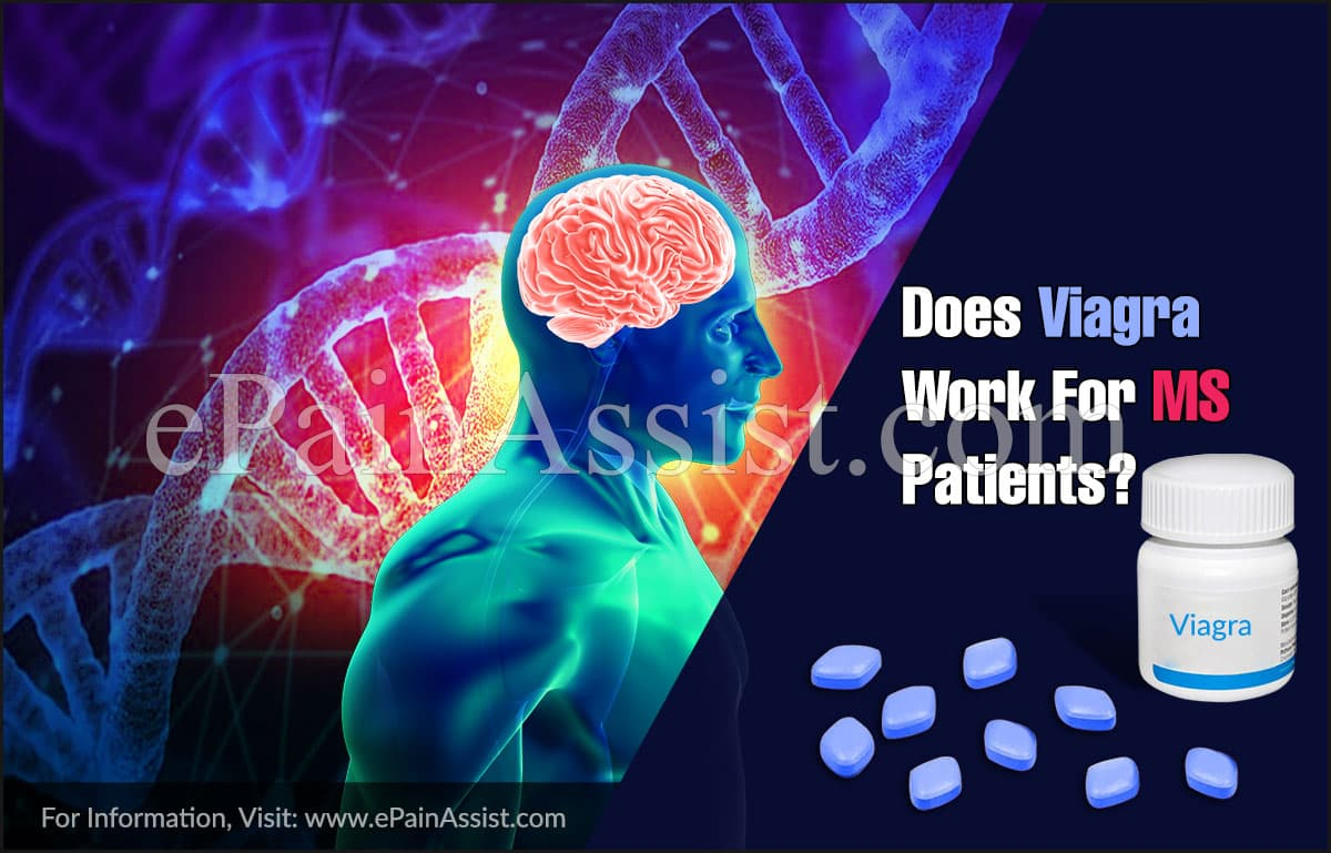 Does Viagra Work For MS Patients?