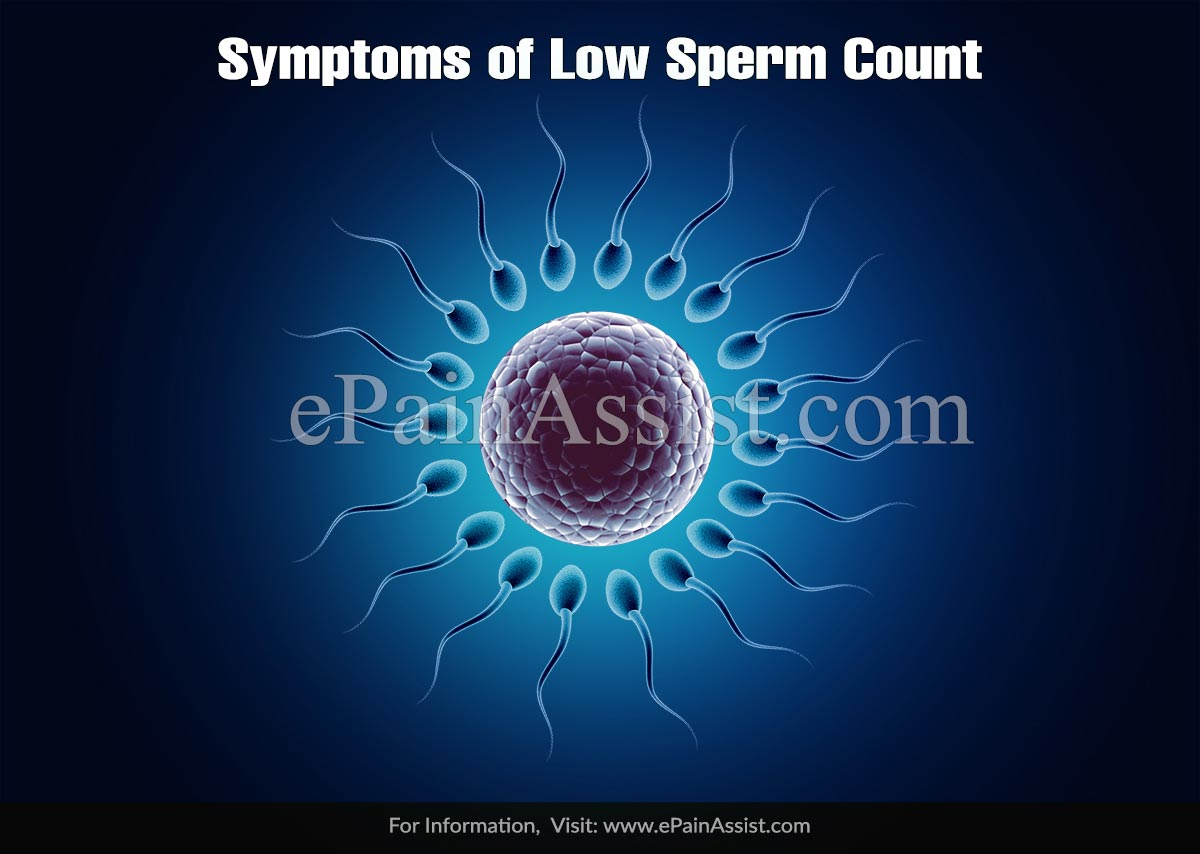 Symptoms of Low Sperm Count