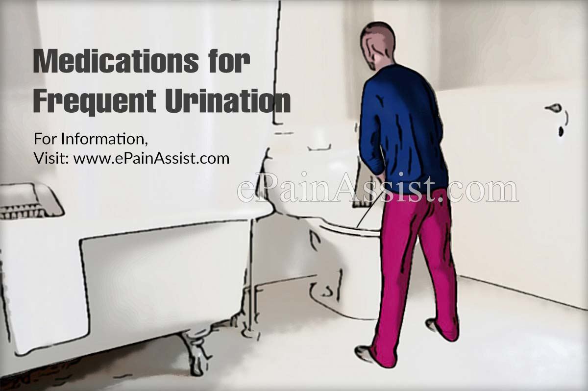 Medications for Frequent Urination