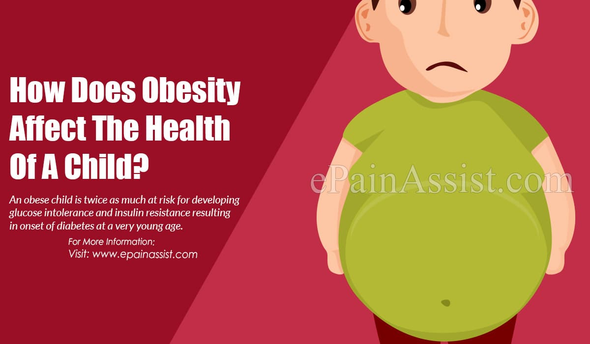 How Does Obesity Affect The Health Of A Child?