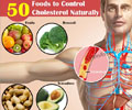 50 Foods to Control Cholesterol Naturally