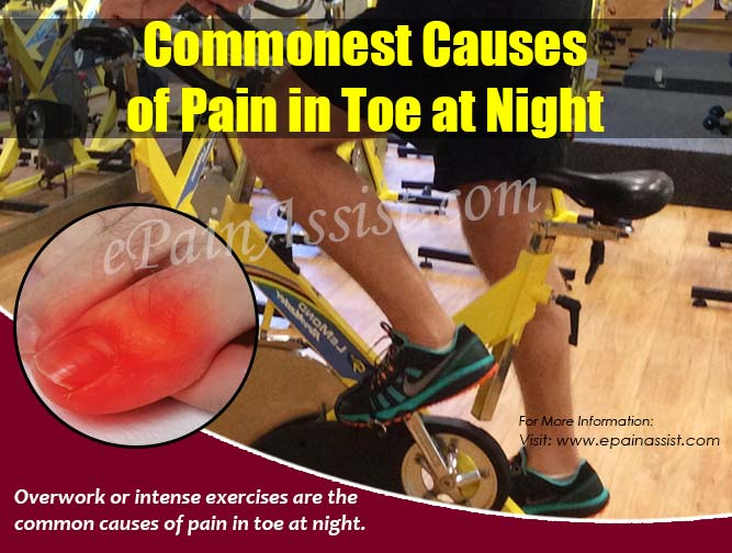 Commonest Causes of Pain in Toe at Night
