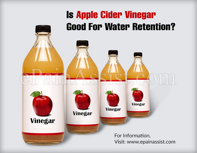 Is Apple Cider Vinegar Good For Water Retention?