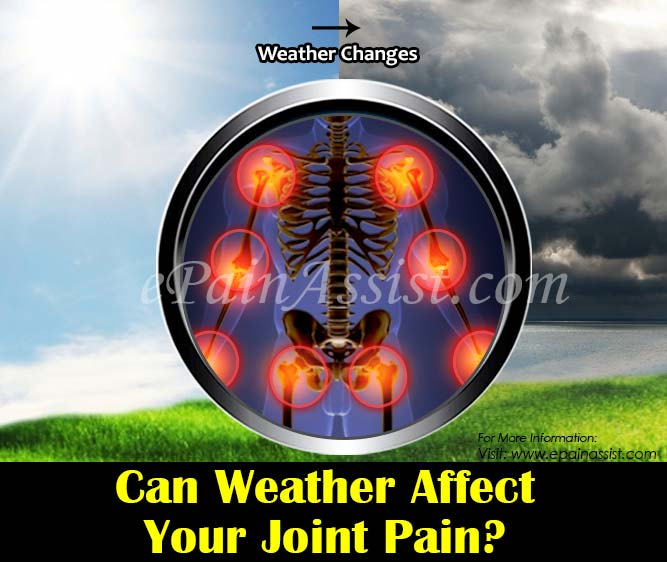 Can Weather Affect your Joint Pain?