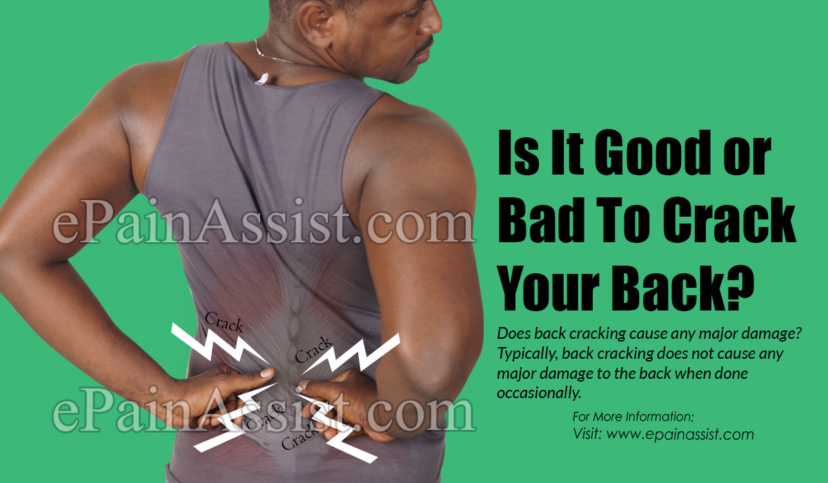 Is It Good or Bad To Crack Your Back?