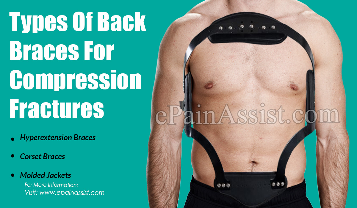 Types Of Back Braces For Compression Fractures