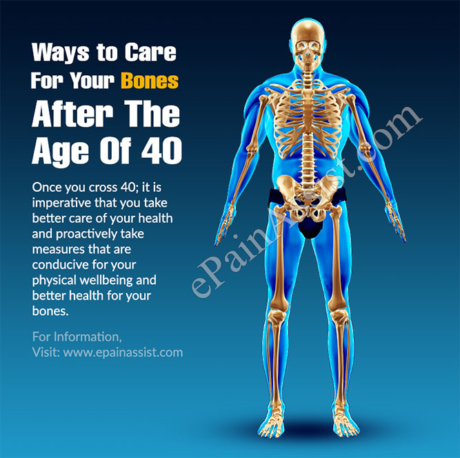 3 Ways to Care For Your Bones After The Age Of 40