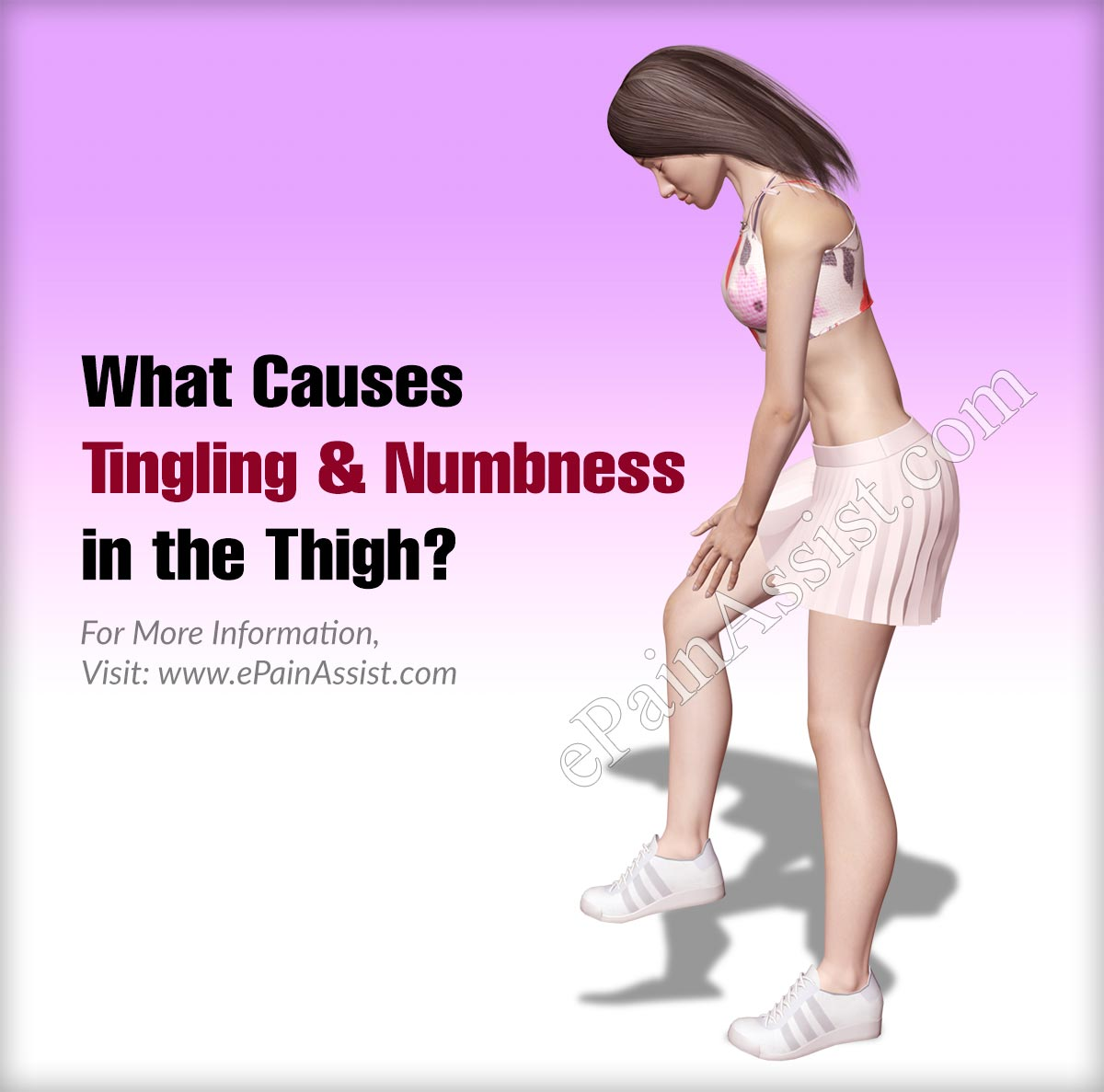 What Can Cause Tingling & Numbness In The Thigh?