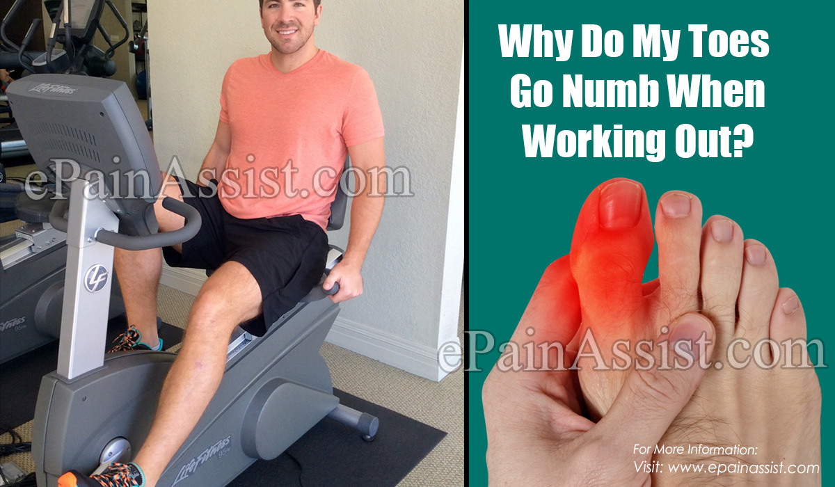 Why Do My Toes Go Numb When Working Out?