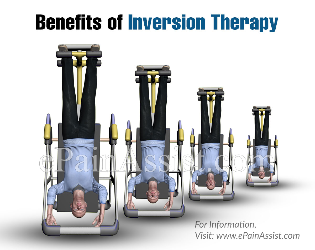 Benefits of Inversion Therapy for Back Pain