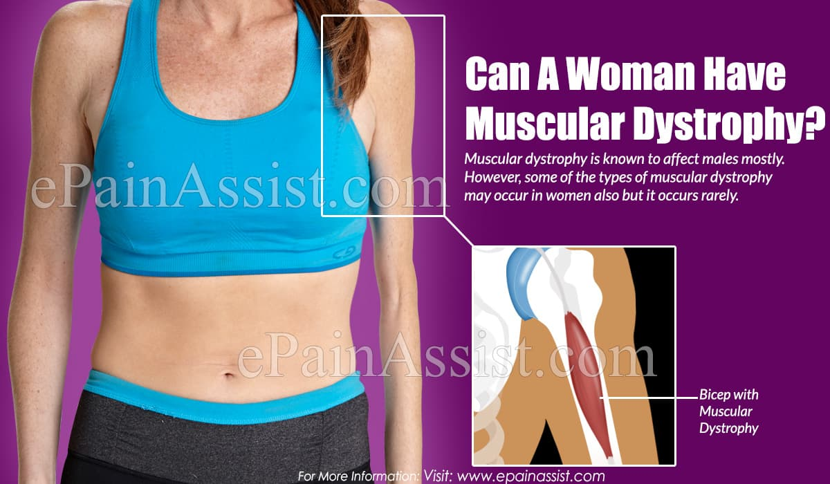 Can A Woman Have Muscular Dystrophy?
