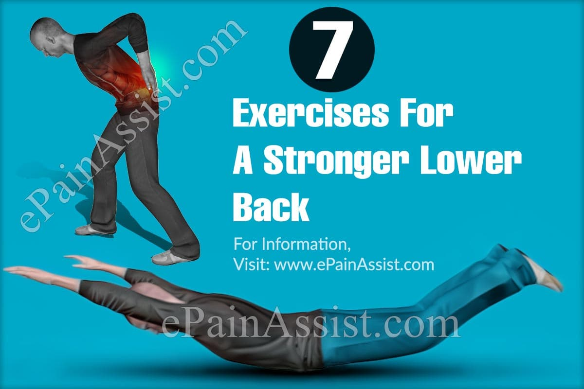Exercises For A Stronger Lower Back