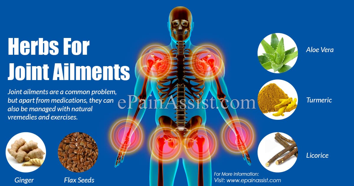 Herbs For Joint Ailments