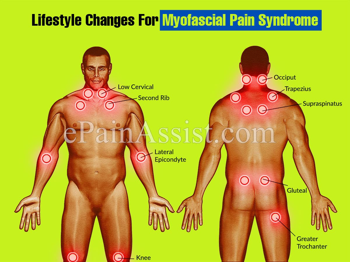 Lifestyle Changes For Myofascial Pain Syndrome