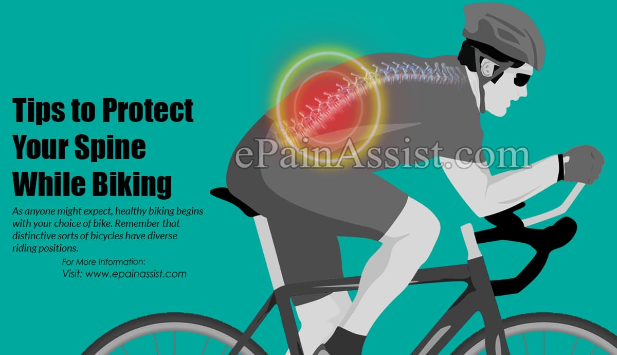 Tips to Protect Your Spine While Biking
