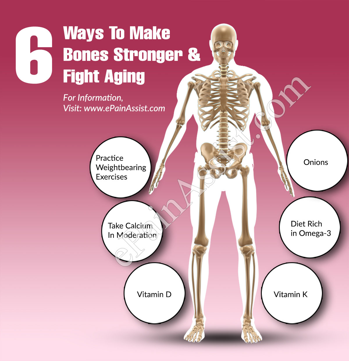 6 Ways To Make Bones Stronger And Fight Aging