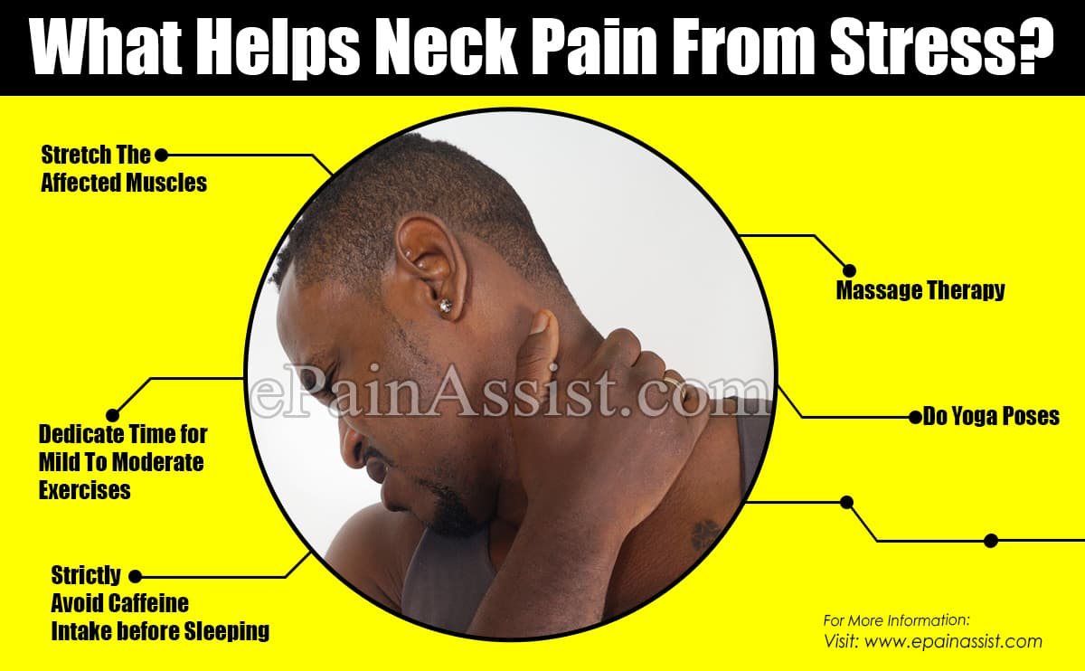 What Helps Neck Pain From Stress?
