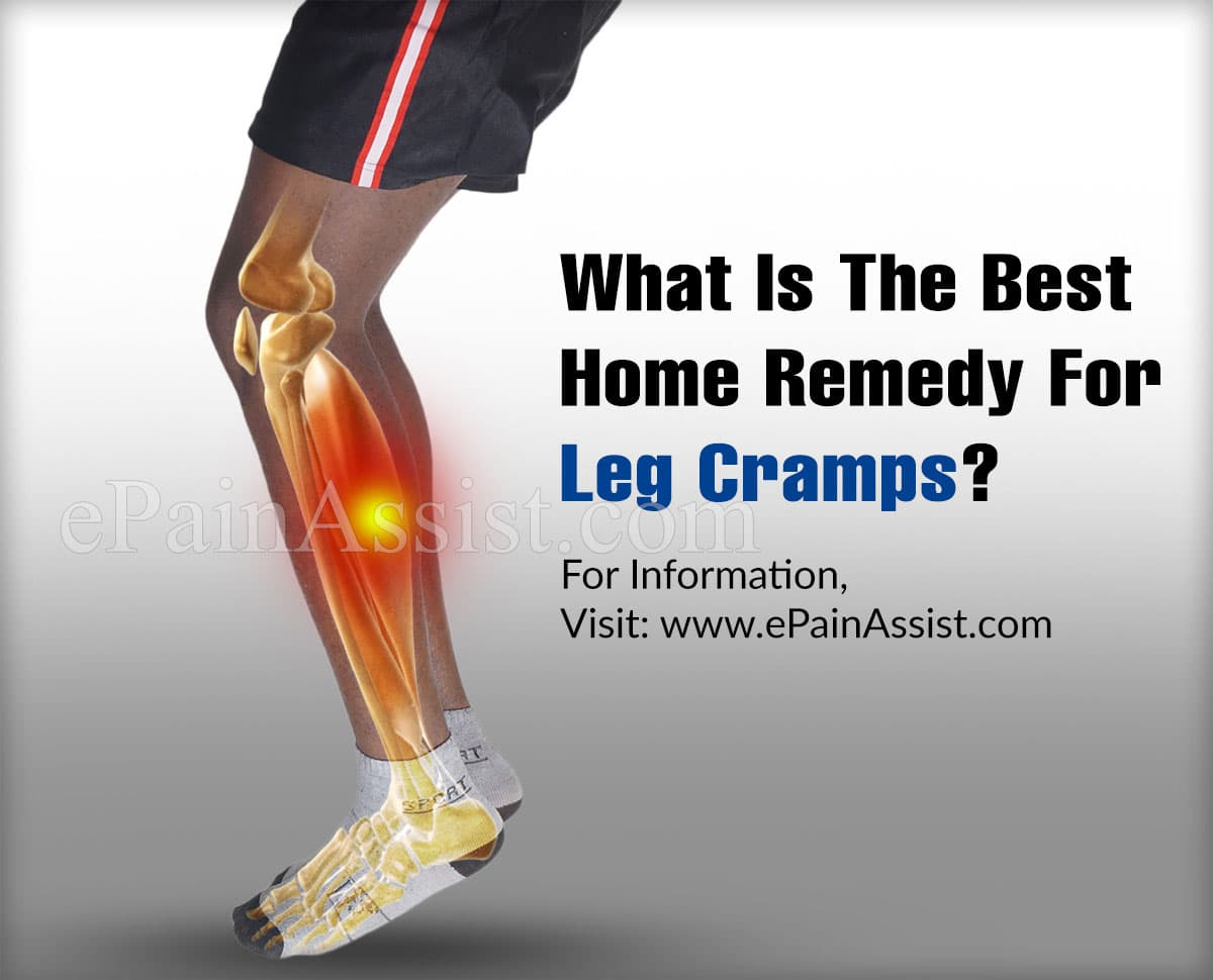 What Is The Best Home Remedy For Leg Cramps?