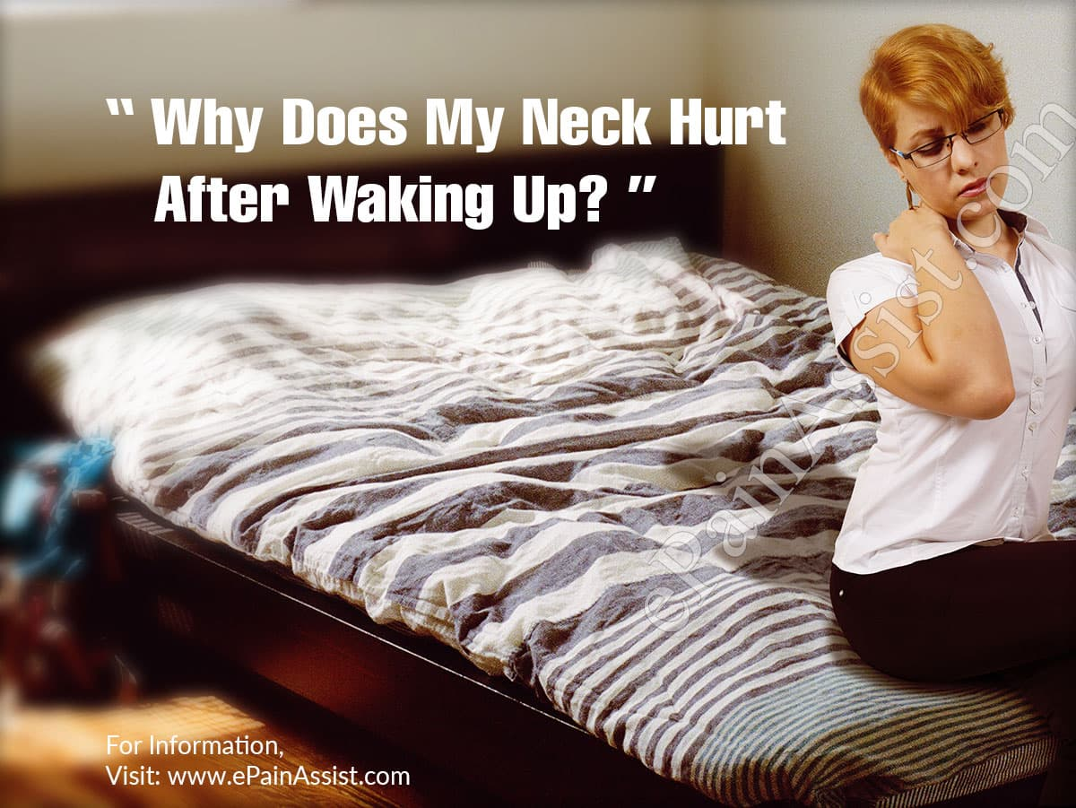 Why Does My Neck Hurt After Waking Up?