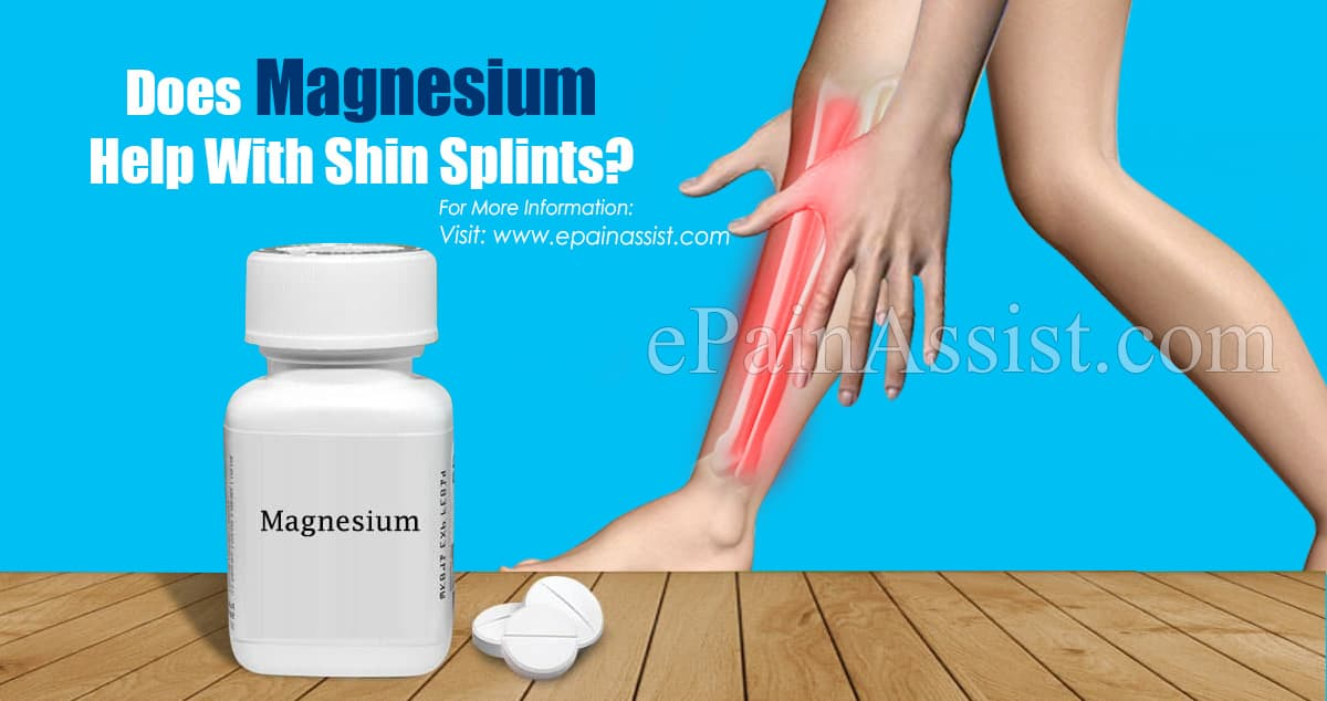 Does Magnesium Help With Shin Splints?