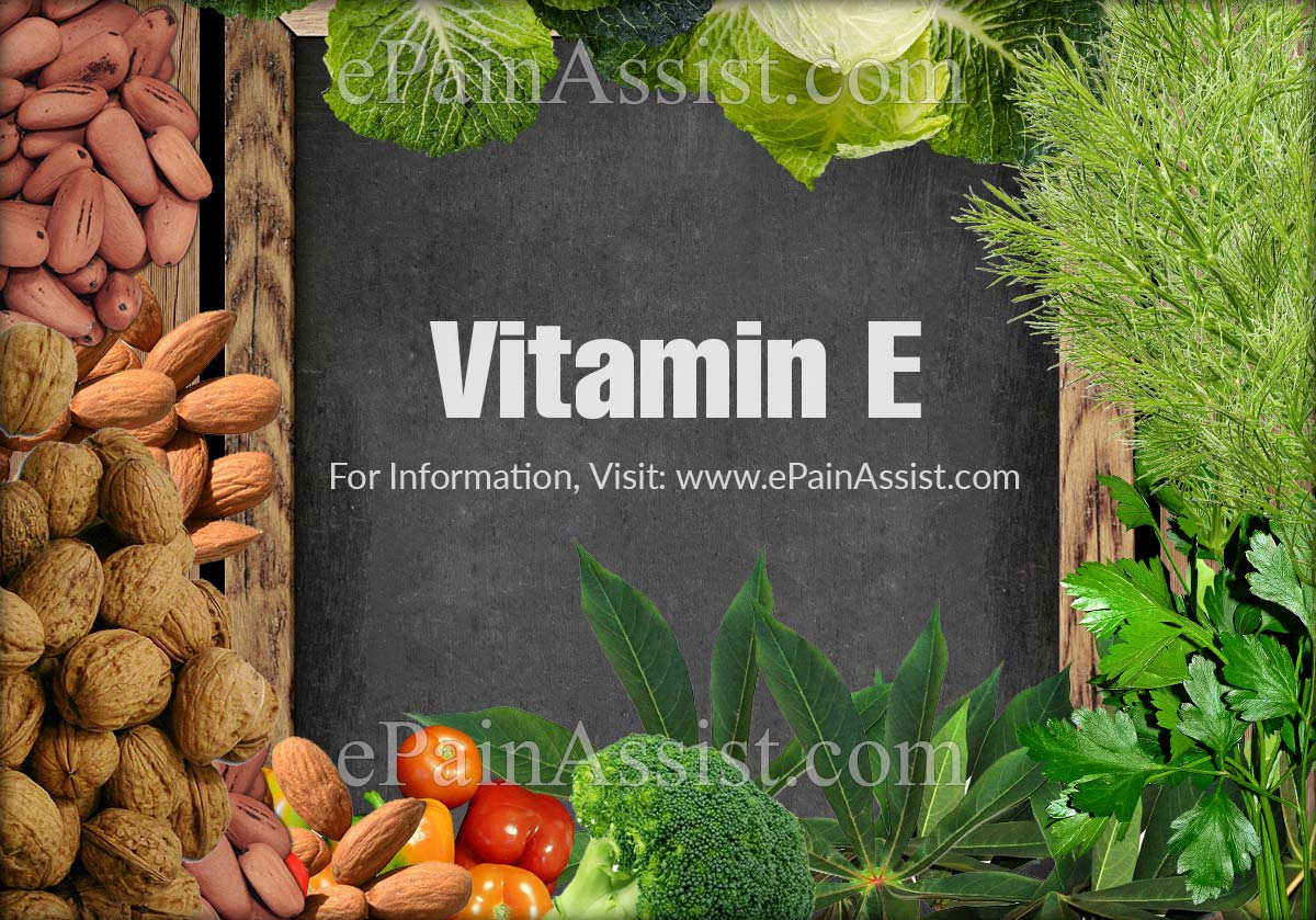 Does Vitamin E Help Muscle Cramps?
