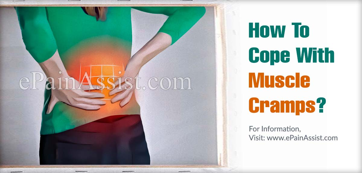 How To Cope With Muscle Cramps?