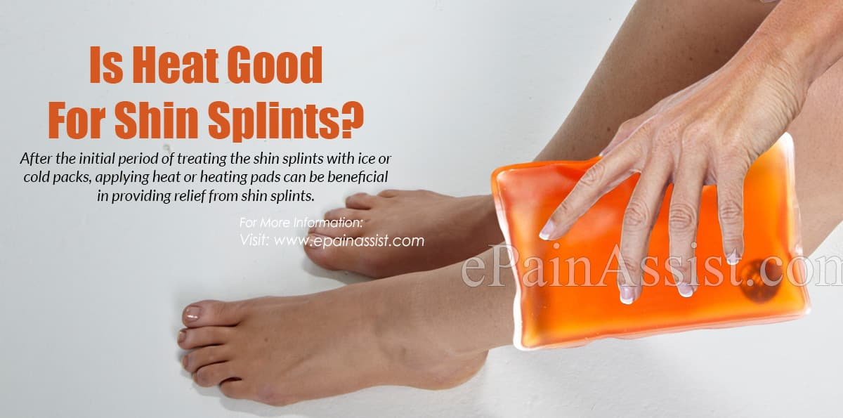 Is Heat Good For Shin Splints?