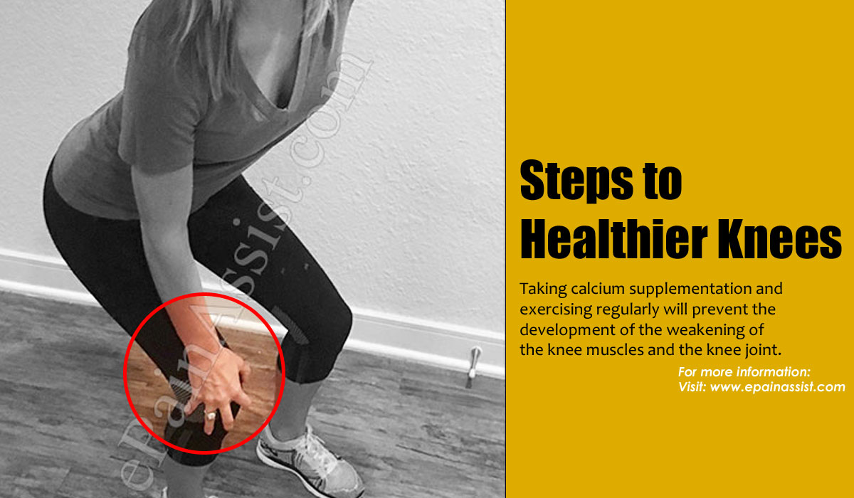 Steps to Healthier Knee