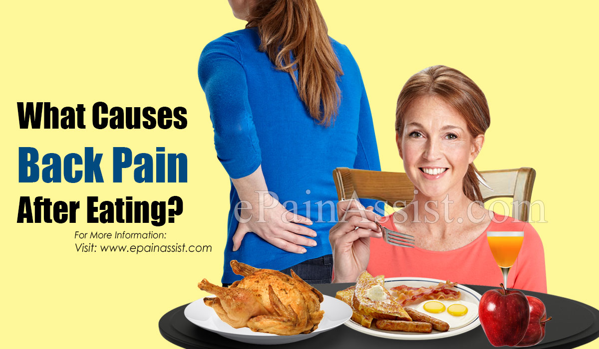 What Causes Back Pain After Eating?