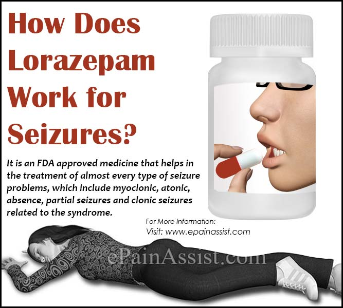 How Does Lorazepam Work For Seizures