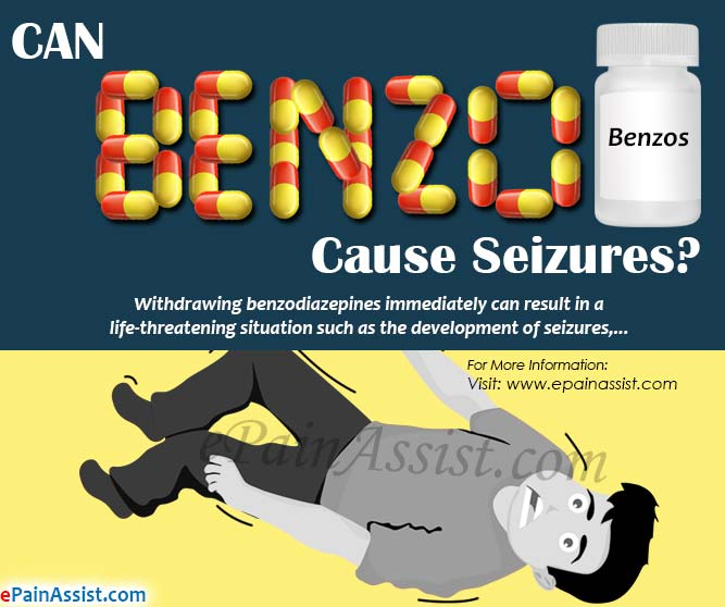 Can Benzos Cause Seizures?