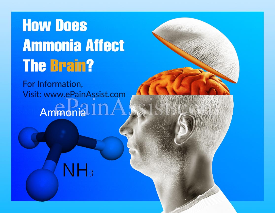 How Does Ammonia Affect The Brain?