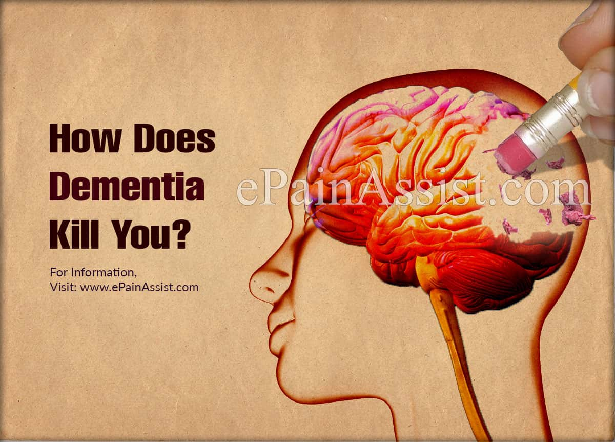 How Does Dementia Kill You?