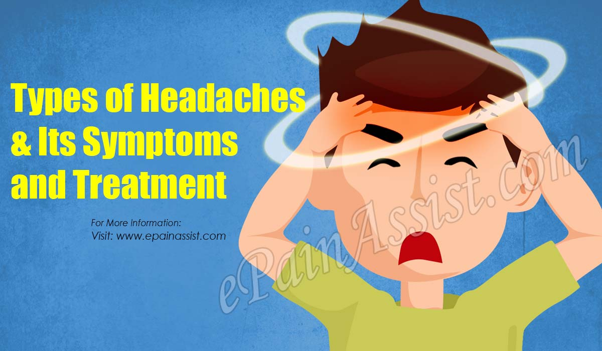 Types of Headaches & Its Symptoms, Treatment