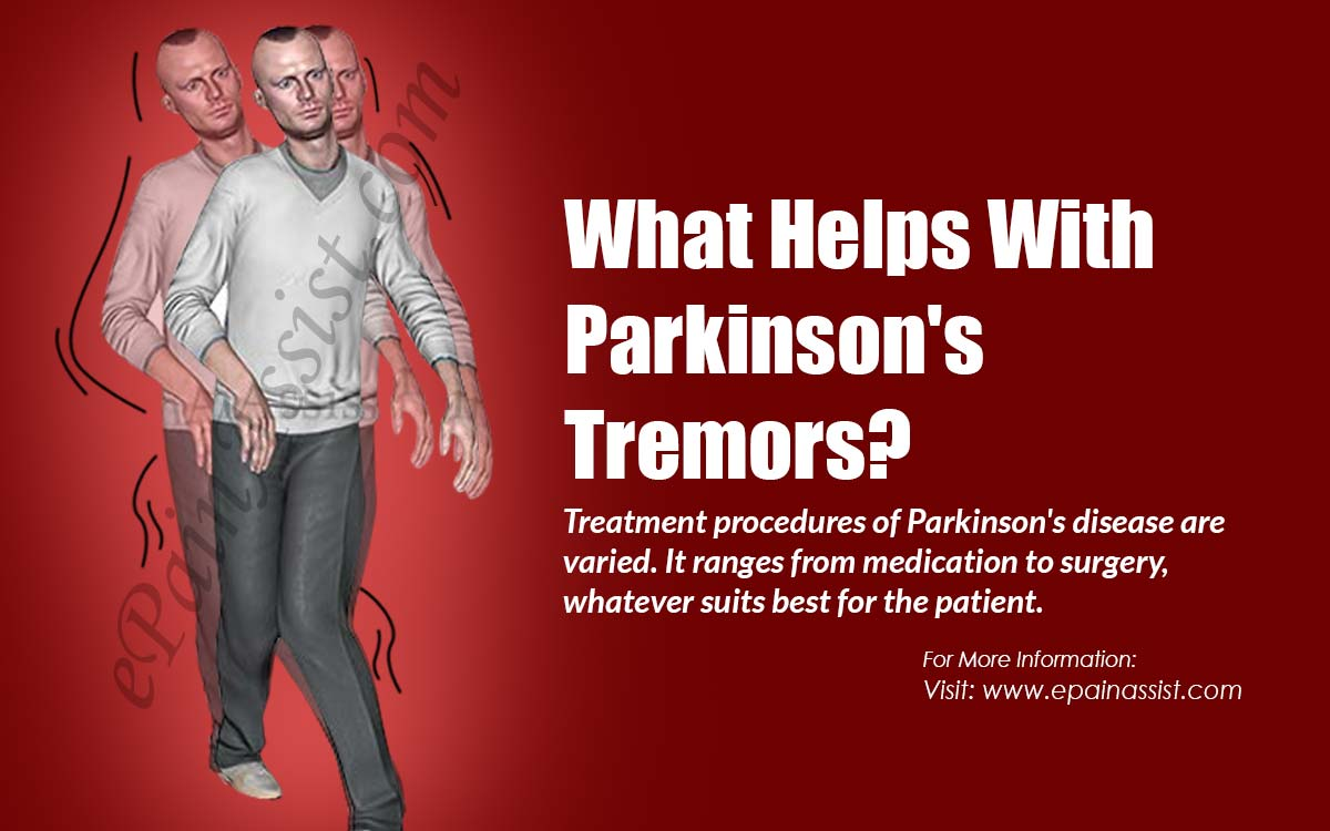What Helps With Parkinson's Tremors?