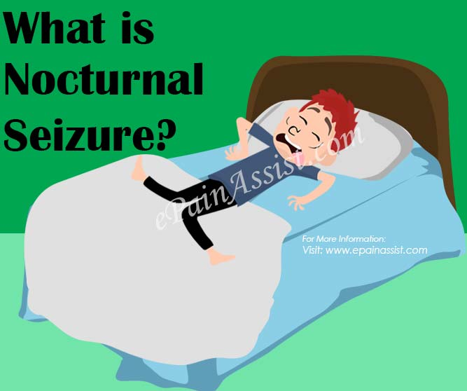 What is Nocturnal Seizure?