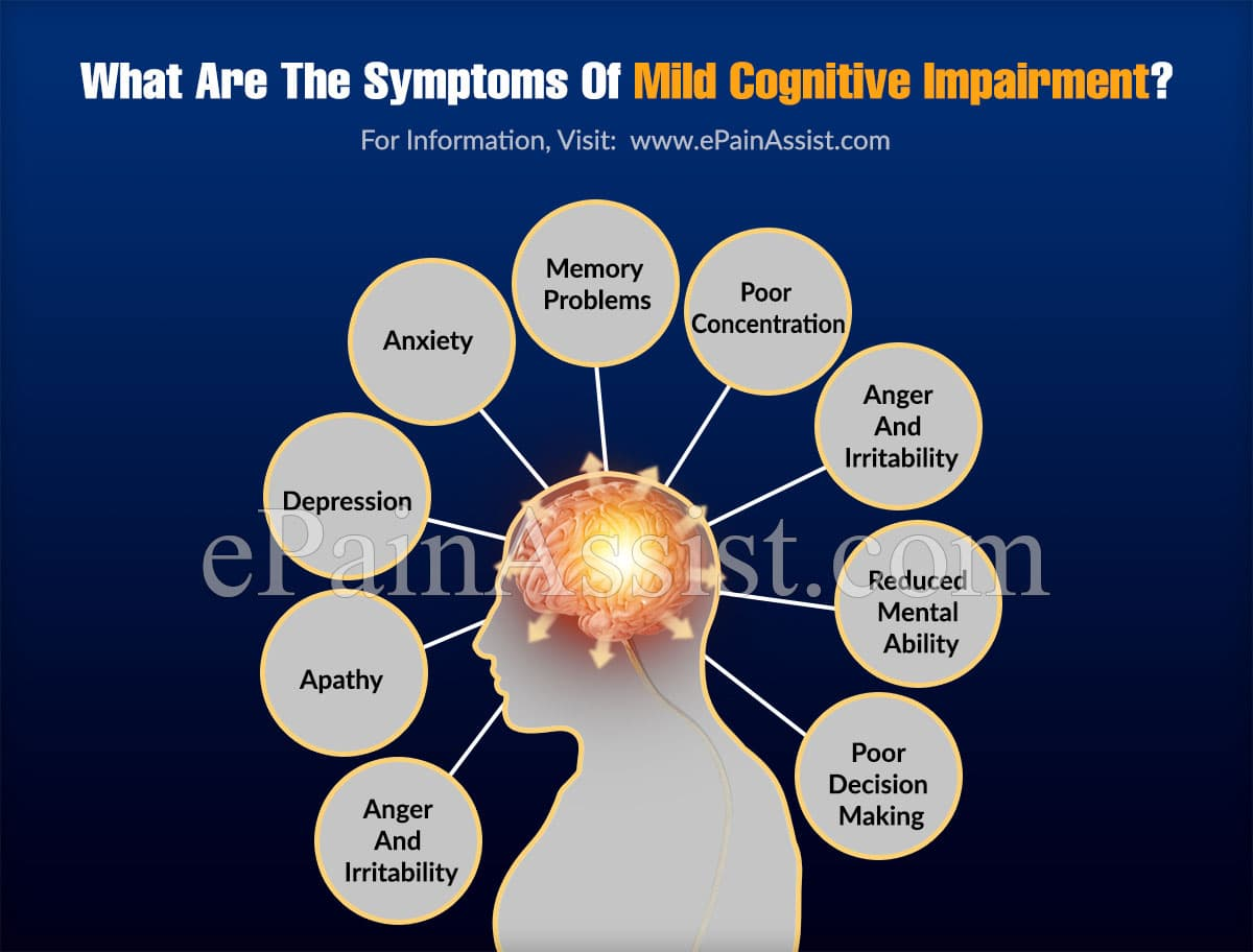 What Are The Symptoms Of Mild Cognitive Impairment?