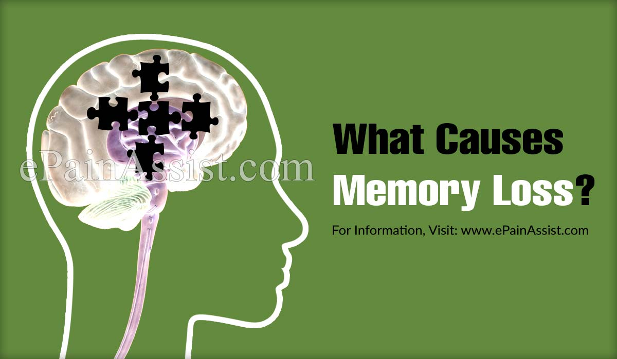 What Causes Memory Loss?