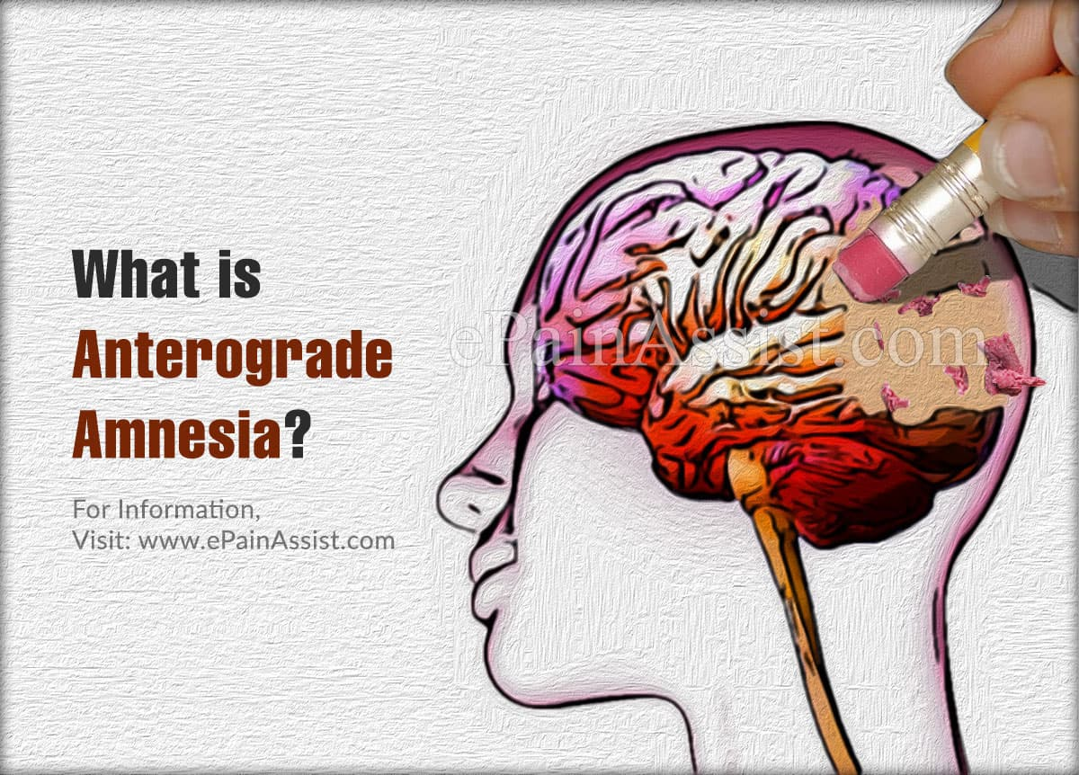 What is Anterograde Amnesia?