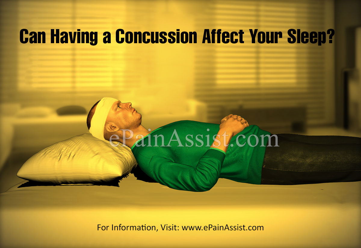 Can Having a Concussion Affect Your Sleep?